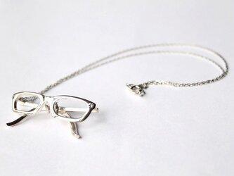 メガネ オーバルフレーム ネックレス RHの画像