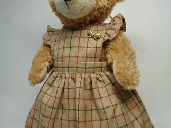 ダッフィーお洋服 ジャンパースカートの画像