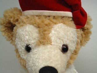 ダッフィー帽子 ベレー帽の画像