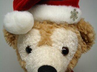 ダッフィー帽子 クリスマス三角帽の画像