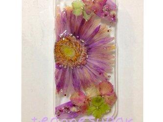 08 iphone6/アンティーク押し花の画像