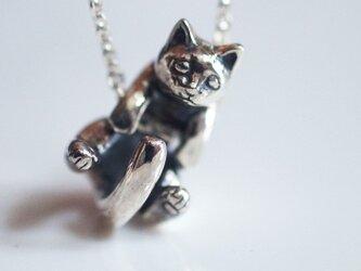 グリとラテュの猫ペンダント ラテュの画像
