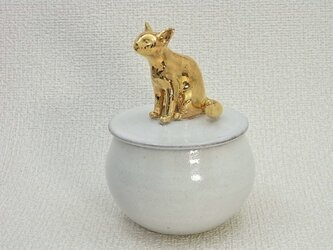 Gold Cat Candy Box-Aの画像