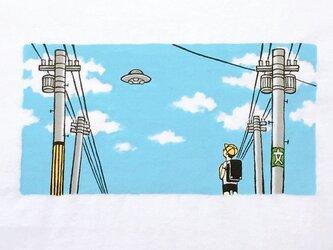 通学路とUFO 【 Tシャツ 】の画像