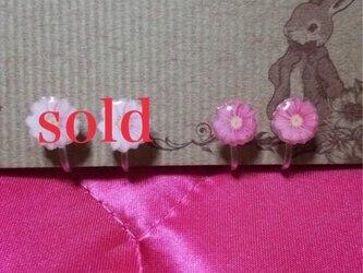 【sale】小花ノンホールピアスの画像