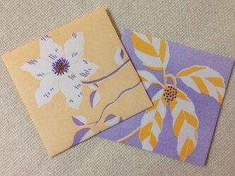ポチ袋 花の画像