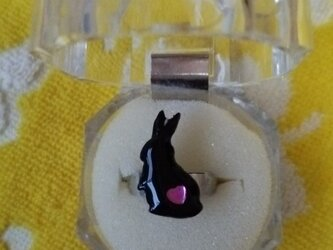【再販】ウサギのリングの画像