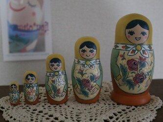 セミョーノフ風マトリョーシカの画像