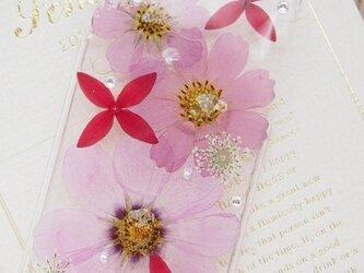 iphone6(5/5s・5c・4/4s)押し花ケース【176】の画像