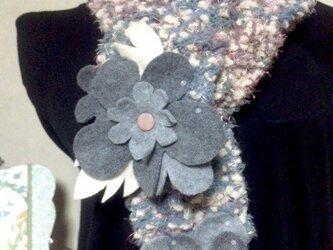 お花畑マフラー6の画像