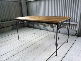 【展示作品】ダイニングテーブル(トモカ様オーダーメイド品)の画像