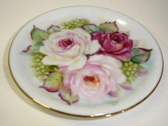 薔薇のコースター(1)の画像
