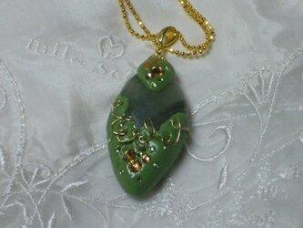 天然石のネックレスの画像