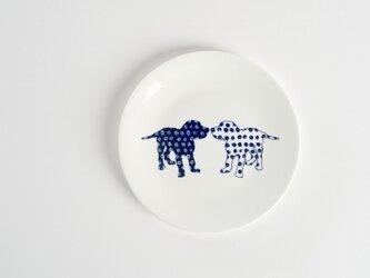 Dog Side Plate -犬柄のお皿-の画像