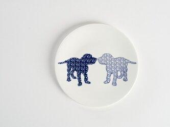 Dog Side Plate ②-犬柄のお皿-の画像