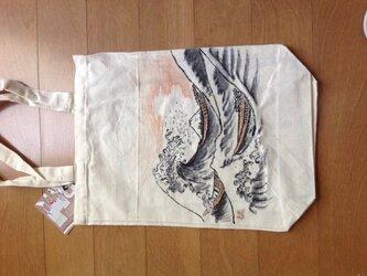 浮世絵トートバッグの画像
