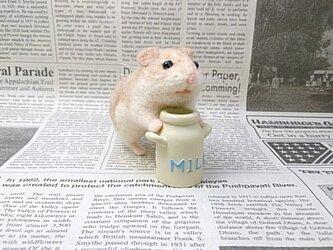 【展示品】ミルク独り占めハムちゃんの画像