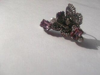 ※半額セール※スワロフスキーイヤーカフ ~秋の蝶~の画像