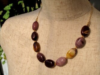 "Necklace ""Autumn Colors""の画像"