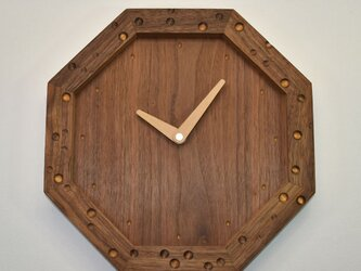 八角時計 チーズの画像