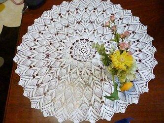 手編みレーステーブルセンターの画像