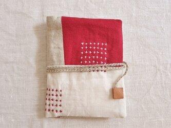 カードケース red&whiteの画像
