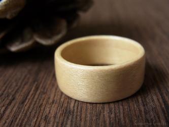 木の指輪~メープル~の画像
