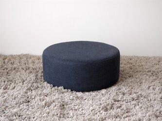 Circle Cushion(navy blue)の画像