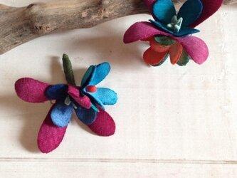 花摘みピアス A-eの画像