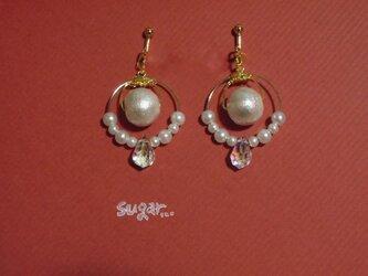 Earrings of the mermaid...の画像
