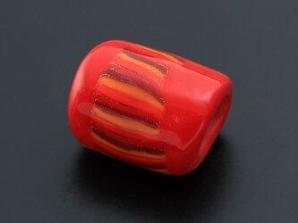 とんぼ玉帯留 赤いシリウスの画像