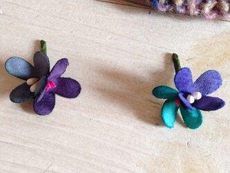 花摘みピアス B-nvの画像