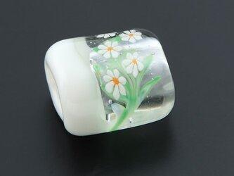 とんぼ玉帯留 水中花の画像