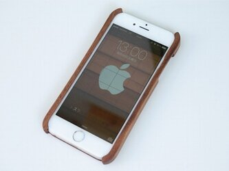 iPhone 6 ウッドケース ウォールナットの画像