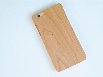 iPhone 6 ウッドケース チェリーの画像