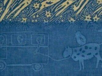 草木染め手ぬぐい ヤマノカゾクの画像