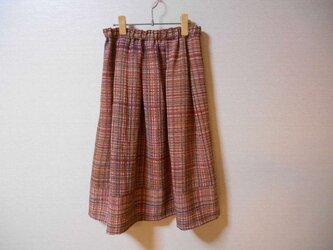 鬼しぼちりめんのスカートの画像