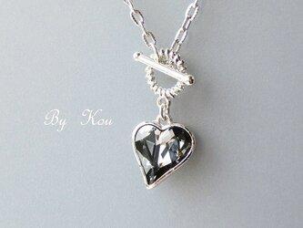 ◆cool&cutie◆スワロハートのネックレス。(B)の画像