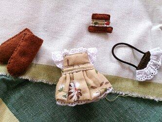 フェルト人形用の着せ替え服NO.27の画像