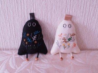 friendly ghost(白/黒)の画像