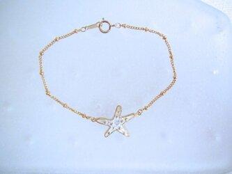 Starfish Bracelet/Crystalの画像