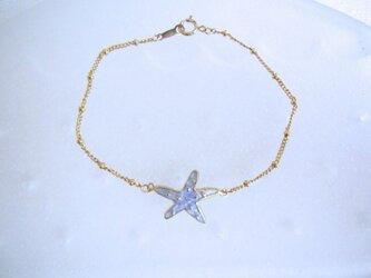 Starfish Bracelet/Aquaの画像