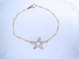 Starfish Bracelet/Whiteの画像