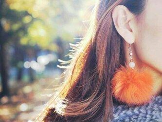 MIL恋愛成就シリーズ ふわふわピアス(中)冬に来る春の画像