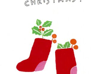 クリスマスカード 2枚セットの画像