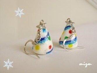 【Xmas】Whiteクリスマスツリーの画像