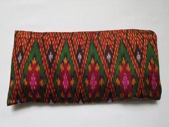 手織り絣 アイピロー No.002の画像