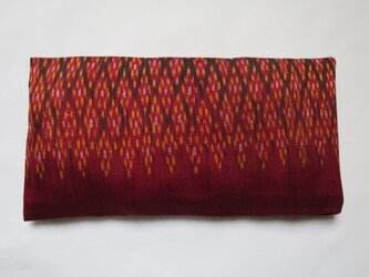 手織り絣 アイピロー No.003の画像