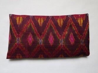 手織り絣 アイピロー No.008の画像