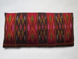 手織り絣 アイピロー No.015の画像